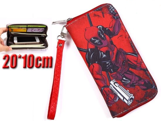 Film & Tv Deadpool Marvel Comics Long Purse