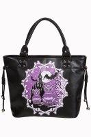 Gothic Banned Apparel Owl & Bat Handbag Secret Obsession