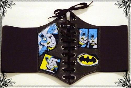 Superhero DC Comics Batman Waist Belt Cinche: