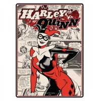 Harley Quinn Batman Official DC Comics Tin Sign/ Wall Plaque