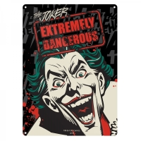 Joker Batman Official DC Comics Tin Sign/ Wall Plaque