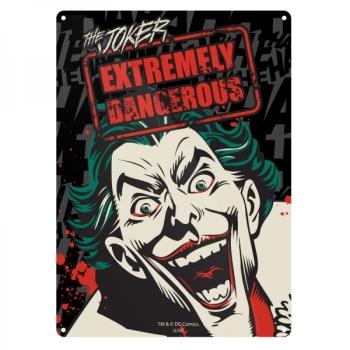 Joker Batman Official DC Comics Tin Sign/ Wall Plaque