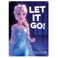 Frozen, Elsa, Let It Go, Official Disney Tin Sign/ Wall Plaque