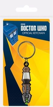 Doctor Who Sonic Screwdriver Keyring, Keychain, Officially Licensed