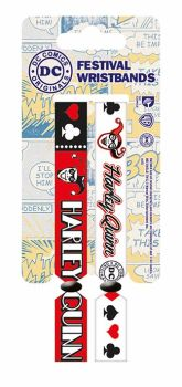 Harley Quinn, Original DC, Festival Wristband, Official License