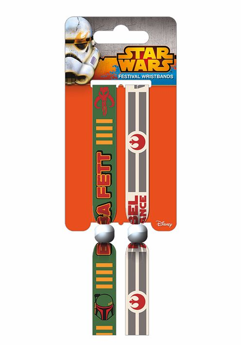 Star Wars, Boba Fett, Rebel Alliance, Festival Wristband, Official License