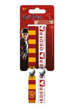 Harry Potter, Gryffindor, Order of the Phoenix, Festival Wristband, Official License