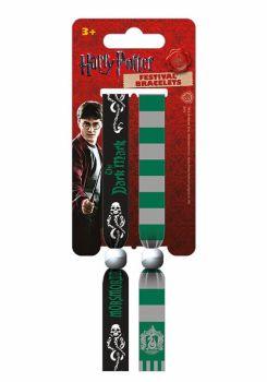Harry Potter, Slytherin, Dark Mark, Festival Wristband, Official License