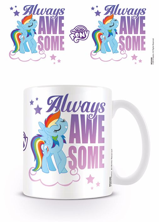 My Little Pony, Always Awesome, Rainbow Dash, Official License Mug