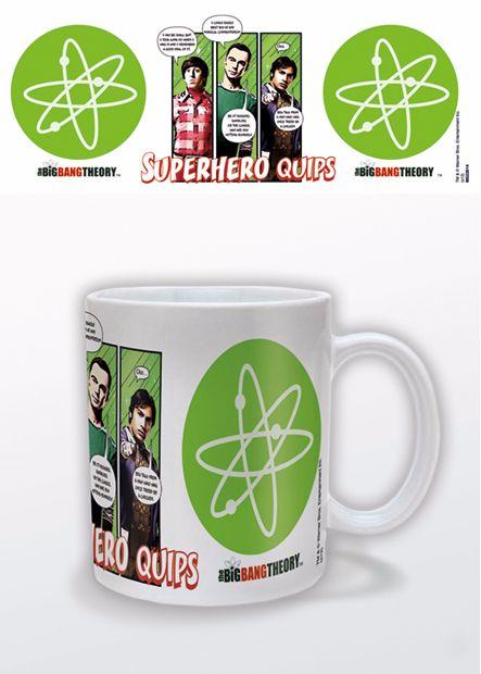 The Big Bang Theory, Sheldon, Raj, Howard, Official License Mug