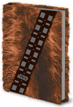 Star Wars, Chewbacca Fur Journal, A5 Notebook, Official License
