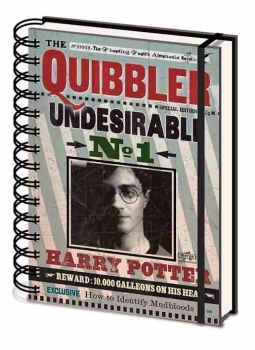 Harry Potter Quibbler A5 Wiro Notebook, Journal Official License