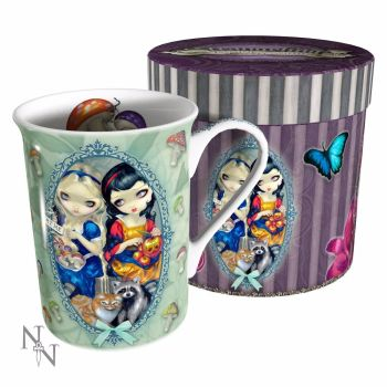 Alice and Snow White Fantasy Gift Mug