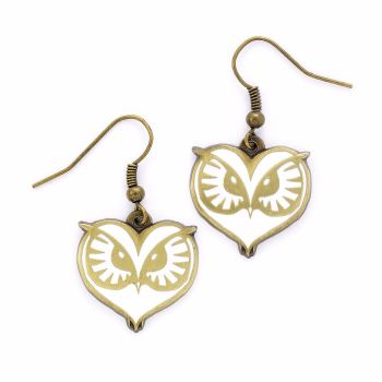 Fantastic Beasts Owl Earrings