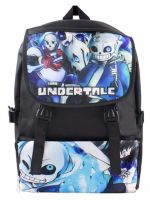 Undertale, Anime Game, Sans, Papyrus, Rucksack, Backpack, Bag
