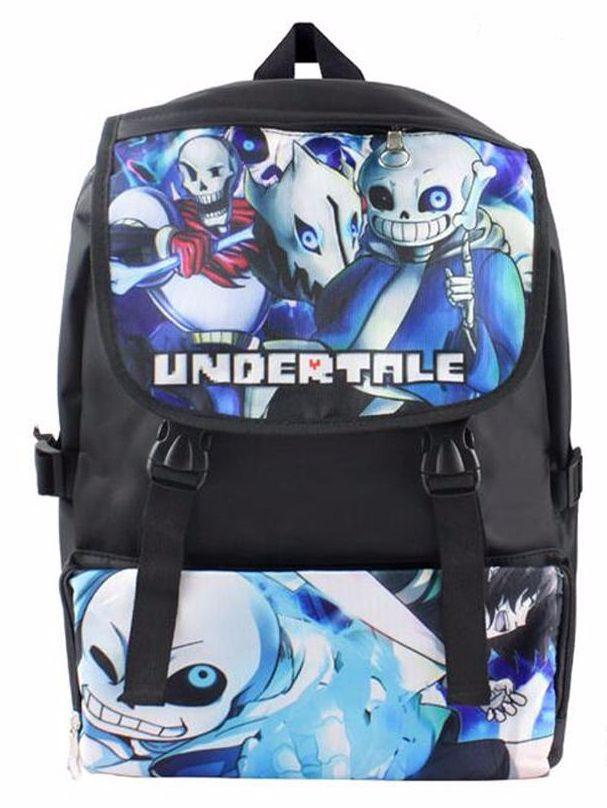 Anime Game Under Tale, Sans, Rucksack, Backpack, Bag