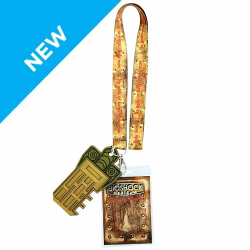 Bioshock Game, Andrew Ryan Lanyard, Official License