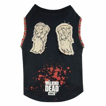 Daryl Wings The Walking Dead Dog T-shirt, Official License The Walking Dead Dog T-shirt