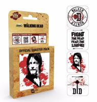 The Walking Dead Daryl Coaster Set, AMC Official License