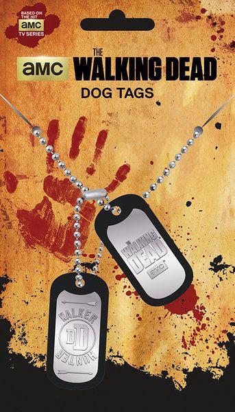 The Walking Dead Tog Tags, Walker Hunter, AMC Official License