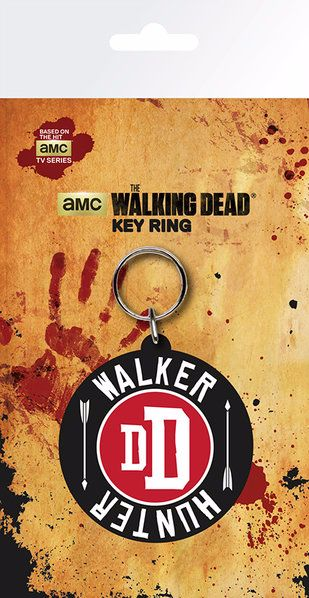 The Walking Dead Walker Hunter Keyring, AMC Official License