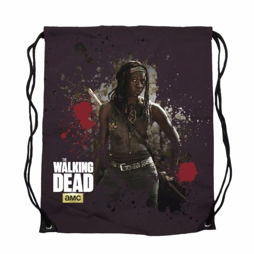 The Walking Dead, Michonne Drawstring Cinch Bag, AMC Official License