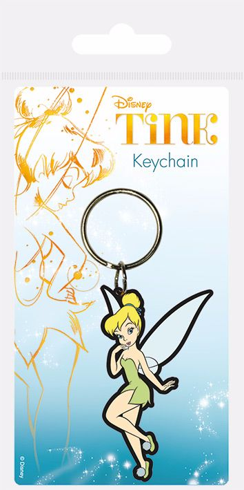 Tinker Bell Peter Pan Keyring, Keychain, Officially Licensed