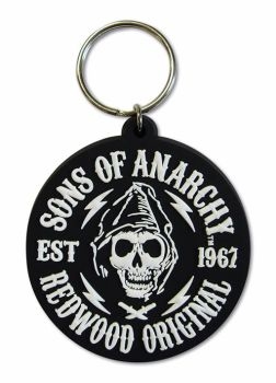 Sons of Anarchy Keyring, Keychain, Officially Licensed