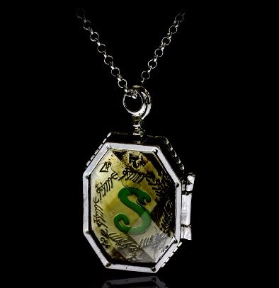 Harry Potter, Horcrux, Slytherin Locket, Pendant Necklace