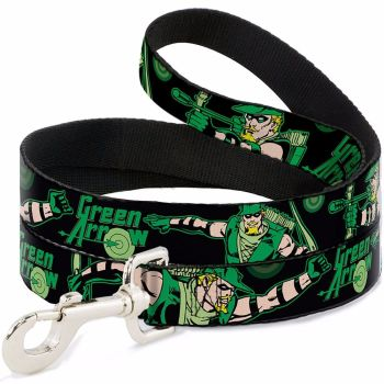 Green Arrow, DC Comics Superheros Official License Dog Leash, Dog Lead