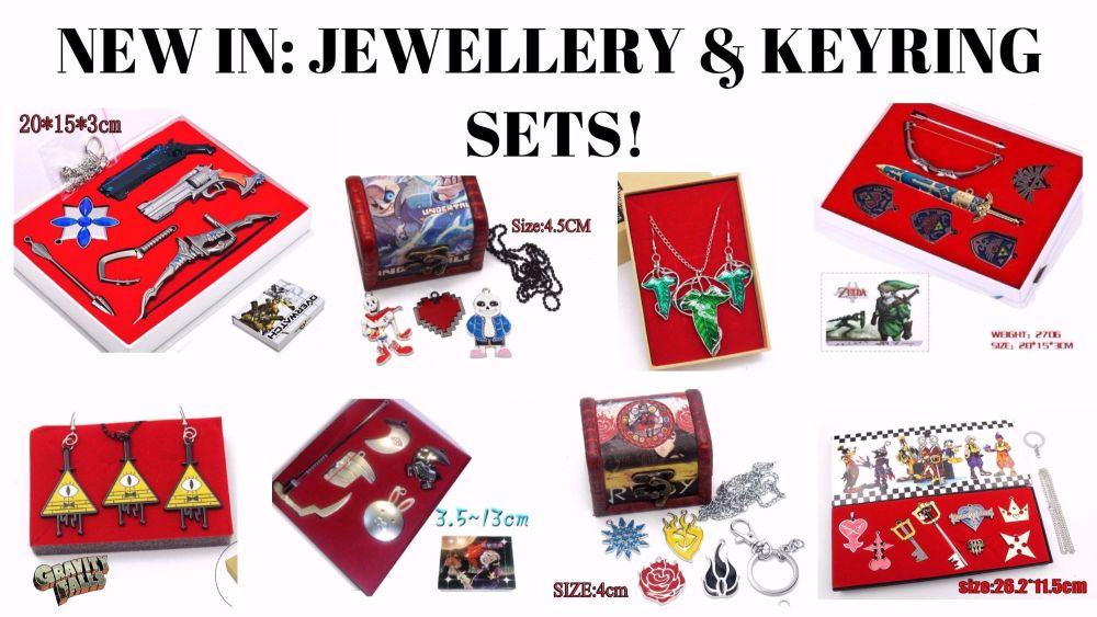 Jewellery and Keyring sets