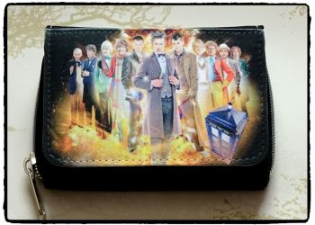 Doctor Who Inspired Purse Wallet