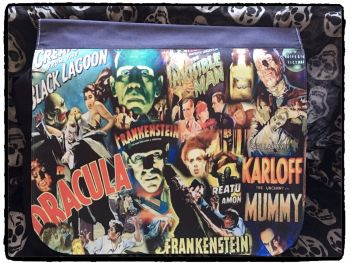 Exclusive: Hammer Horror, Dracula, Frankenstein Inspired Shoulder Bag, Messenger