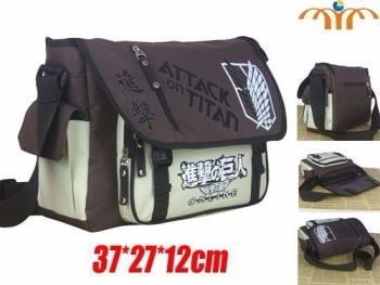 Attack on Titan Scouting Legion Anime Inspired Shoulder Bag