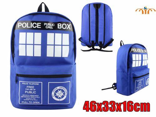Film & TV Doctor Who Inspired Tardis Police Box Rucksack Backpack
