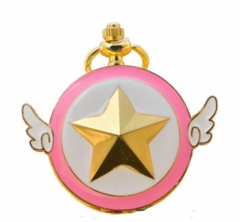 Card Captor, Sakura Anime Pendant Pocket Watch