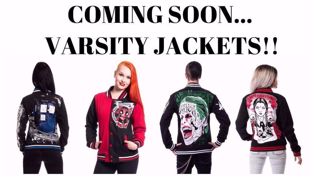 Varsity jackets banner