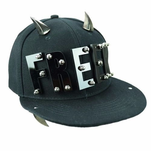 Gothic Freak Spike Cap, Baseball Hat by Poizen Industries