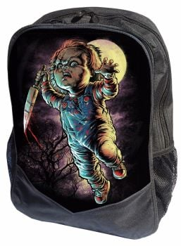 Film & TV Chucky, Child's Play Horror Gothic Rucksack Backpack by Darkside