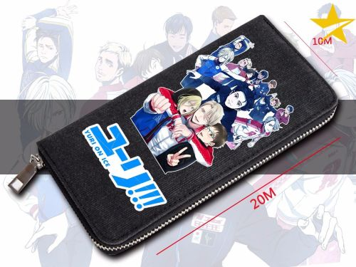 Yuri!! On Ice Anime Long Purse Wallet
