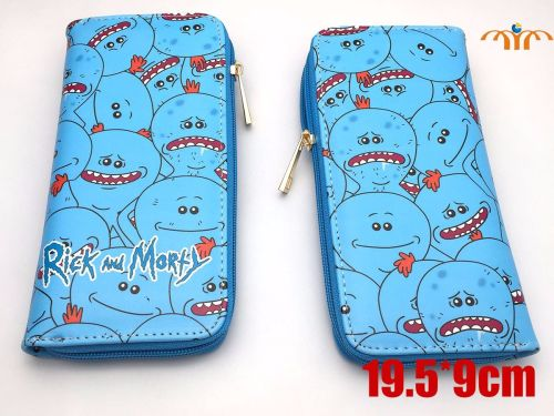 Film & TV, Rick and Morty, Mr Meeseeks Long Purse Wallet