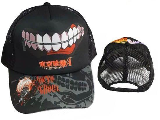 Anime Tokyo Ghoul, Keneki Ken, Baseball Cap Hat