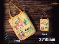 Anime Dragon Maid Canvas Shopper