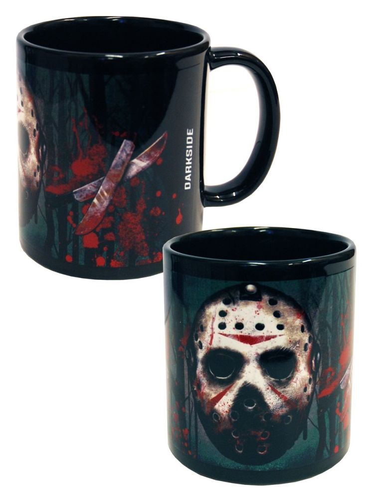 Jason Vorhees, Friday 13th, Horror, Gothic Mug Cup by Darkside