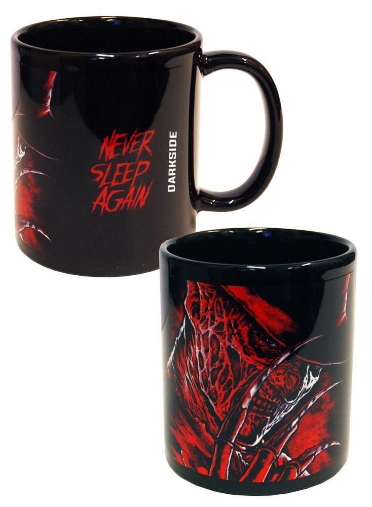Horror Freddy Krueger, Nightmare on Elm Street, Gothic Mug Cup