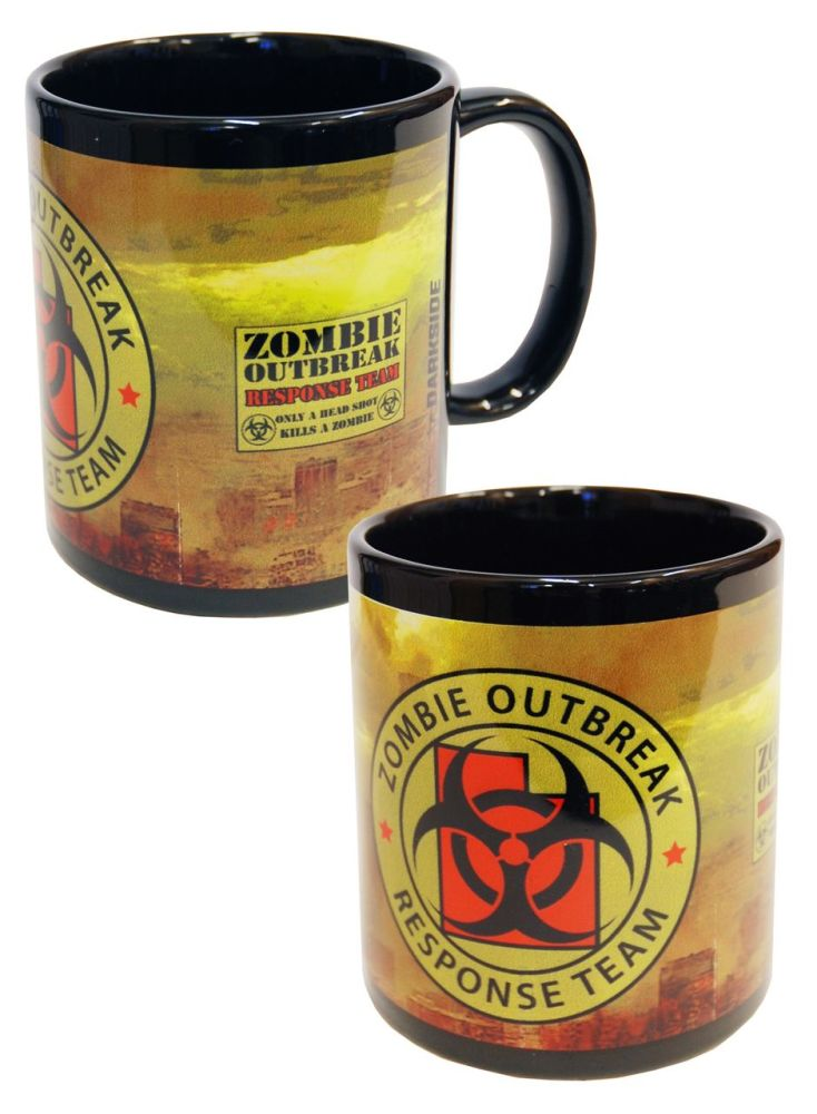 Horror Zombie Killer, Zombie Response Gothic Mug Cup