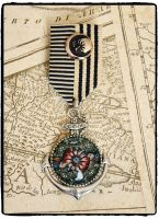 Steampunk, Anchor, Nautical Military Medal
