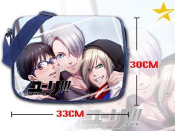 Anime Yuri!!! On Ice Shoulder Bag