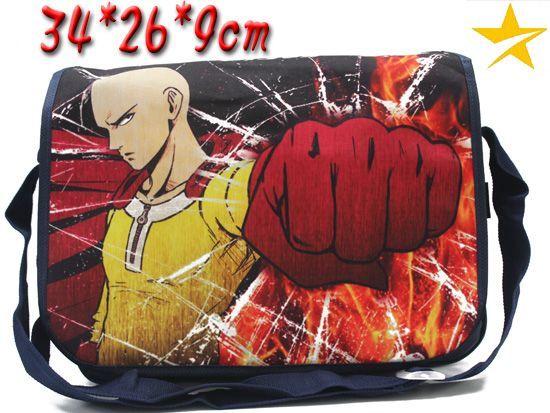 One Punch Man, Saitama, Anime Inspired Shoulder Messenger Bag