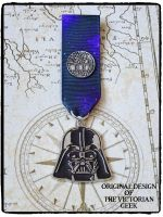 Steampunk, Star Wars, Darth Vader, Death Star Inspired Handmade Medal